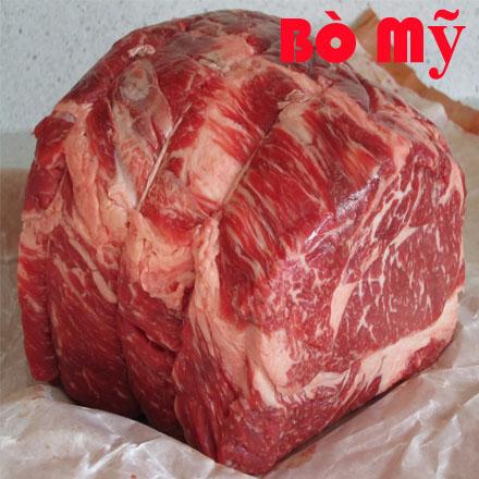 thịt bò mỹ: Thịt Vùng Cổ Bò Mỹ Chuck Eye Roll