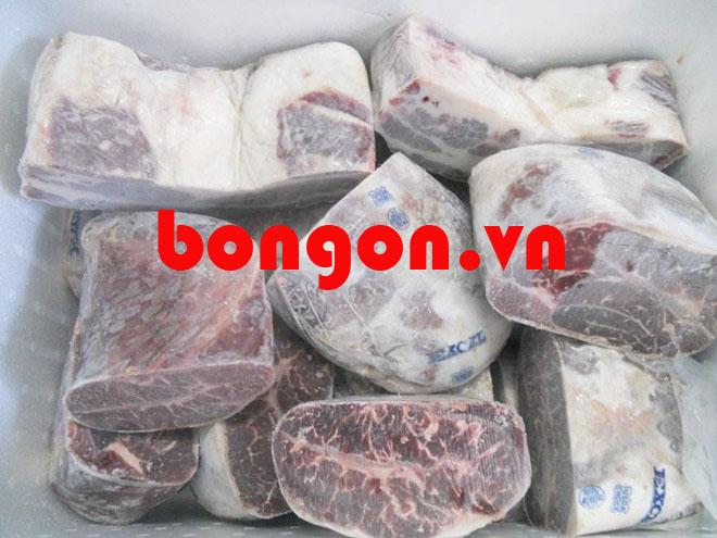 thịt bò mỹ: Thịt bò Mỹ hơn nửa triệu một kg vẫn đông khách mua