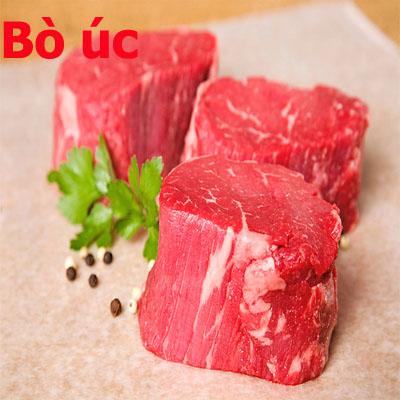 Thịt bò mỹ nhà cung cấp thịt bò: Thịt Thăn Nội Bò Úc Cao Cấp Choice Tenderloin