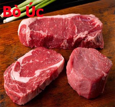 thịt bò mỹ: Thịt Thăn Vai Bò Úc Cao Cấp Ribeye