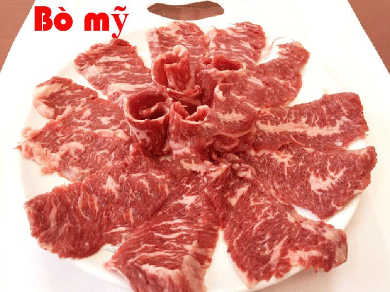 thịt bò mỹ: Thịt Diềm Thăn Bò Mỹ
