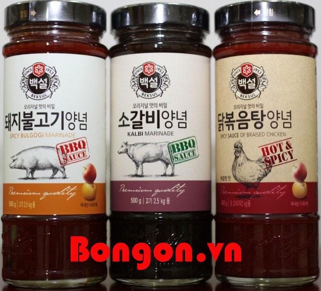 Thịt bò mỹ nhà cung cấp thịt bò: Gia Vị Ướp Thịt Nướng Hàn Quốc BBQ