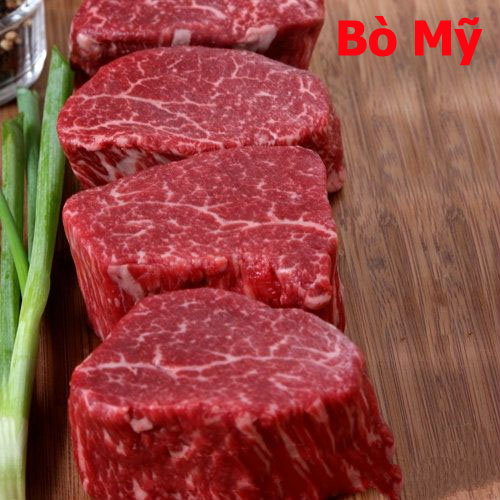 Thịt bò mỹ nhà cung cấp thịt bò: Thịt Thăn Nội Bò Mỹ Beef US Choice-Tenderloin
