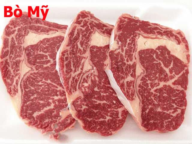 Thịt bò mỹ nhà cung cấp thịt bò: Thịt Thăn Vai Bò Mỹ Beef US Choice-Rib Eyes